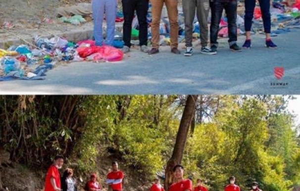 Trashtag Challenge, el nuevo reto viral en redes que busca limpiar el mundo