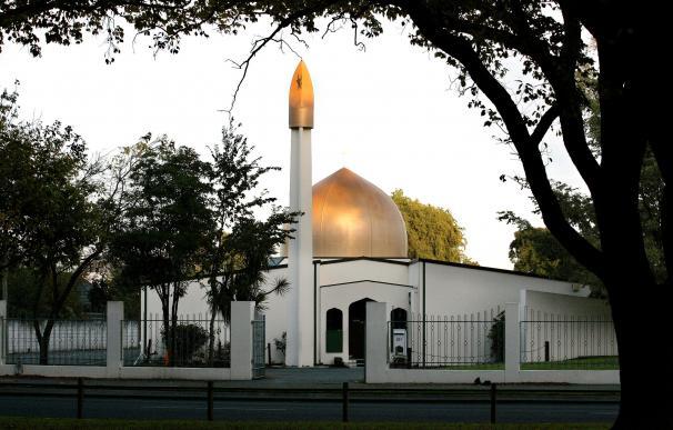 Fachada de la mezquita Masjid Al Noor en Deans Avenue, escenario de un tiroteo