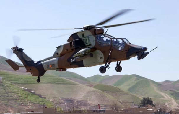 Los helicópteros de ataque 'Tigre' realizaron su primera misión en Afganistán (Foto: mde.es)