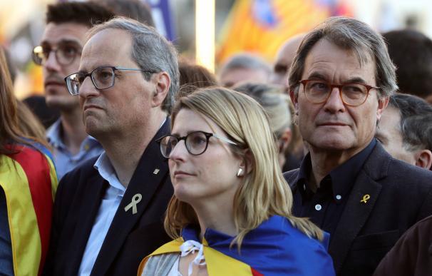 El independentismo avisa en Madrid que no pararán hasta conseguir su objetivo