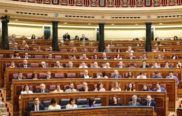Grupo parlamentario socialista en el Congreso