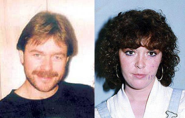 La pareja de miembros del IRA en una imagen de los años 80 (L.I.)