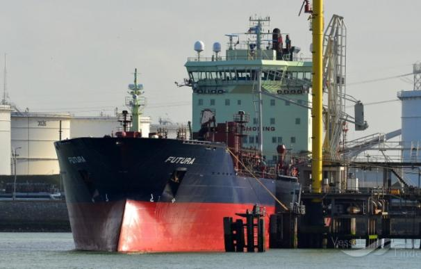 El petrolero 'Futura' en una imagen de archivo (Foto: Arjan Elmendorp/vesselfinder.com)