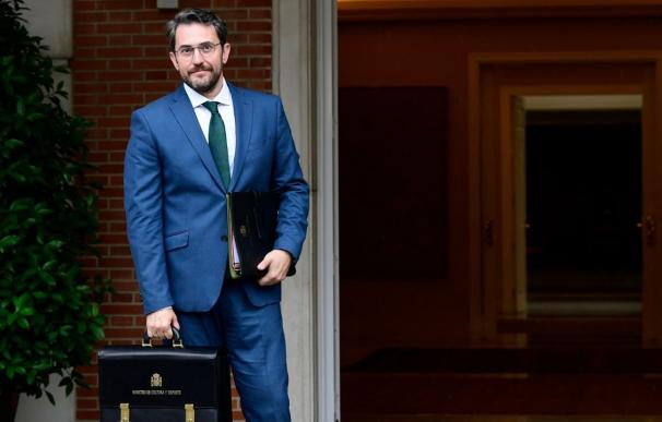 Màxim Huerta en el Palacio de La Moncloa