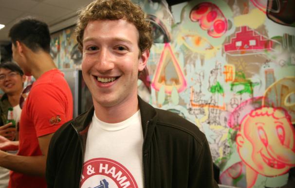 Mark Zuckerberg. Scott Beale / Laughing Squid