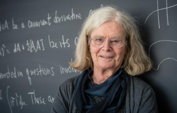 Karen Uhlenbeck es la primera mujer en ganar este galardón. / The Abel Prize