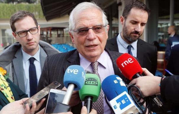 El ministro de Asuntos Exteriores, Josep Borrell / EFE