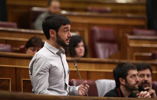 Bustinduy durante una comparecencia en el Congreso.