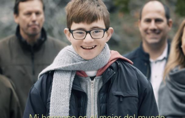 Fotografía del anuncio 'La suerte de tenerte'.