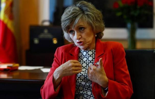 La nueva ministra de Sanidad, Consumo y Bienestar Social, María Luisa Carcedo. (EFE)