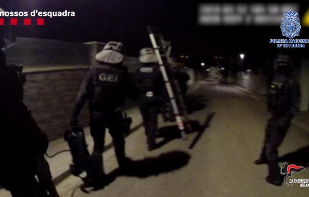 Captura de una de las operaciones para detener a los atracadores (Mossos)