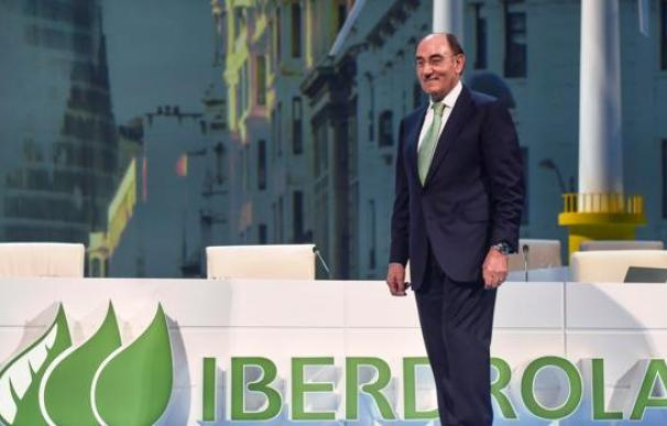 El presidente de Iberdrola, Ignacio Sánchez Galán, en la junta de la eléctrica.