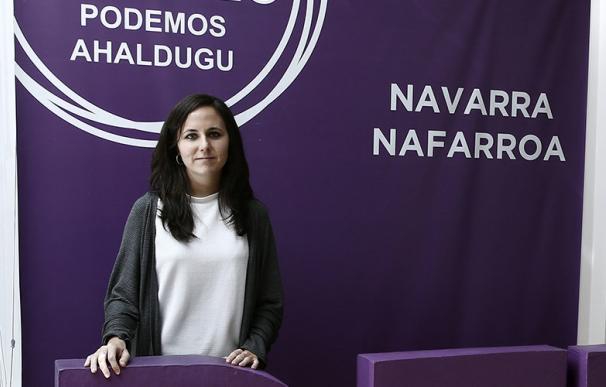 La candidata de Unidas Podemos al Congreso de los Diputados, Ione Belarra, en imagen de archivo (EFE).