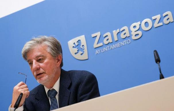 El alcalde de Zaragoza, Pedro Santisteve. EFE
