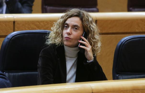 Meritxell Batet, en una sesión plenaria del Senado