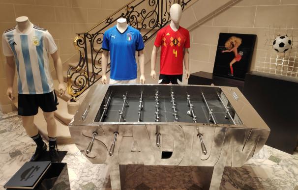 La empresa belga Play It Art ha sacado a la venta un futbolín concebido como una obra de arte