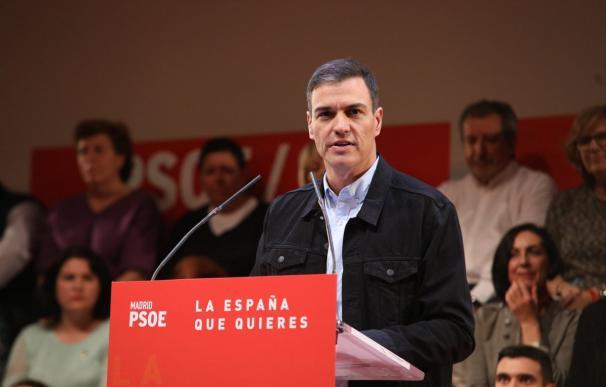 Sánchez busca revancha y mete en su programa 'tumbar' la reforma laboral de Rajoy (Foto: PSOE)