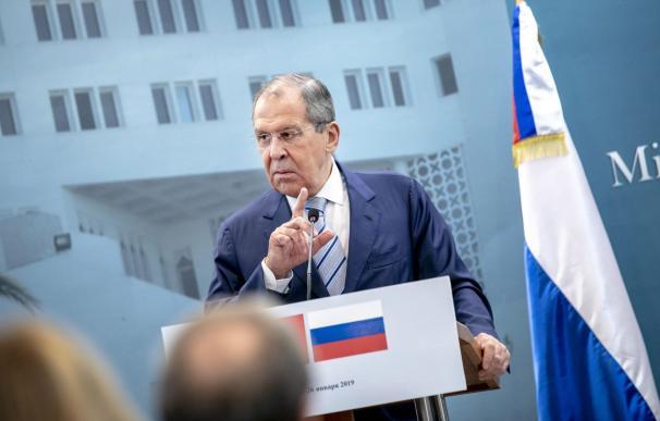 El Ministro de Asuntos Exteriores de Rusia, Sergei Lavrov Foto: EFE