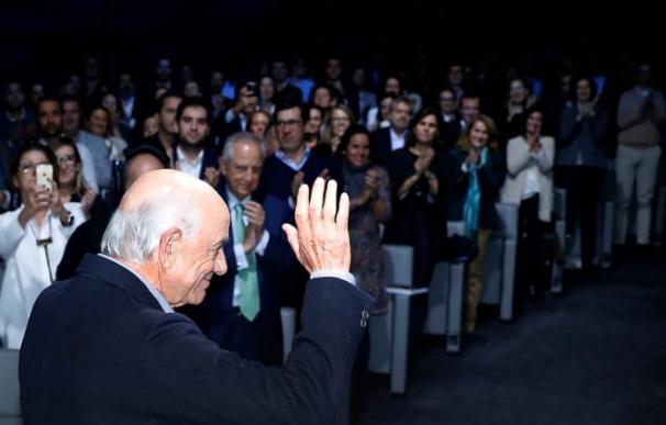 Francisco González se despide de BBVA