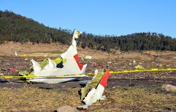 Avión siniesrado Etiopía