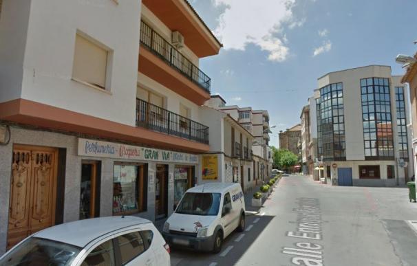 La calle de Argamasilla de Calatrava en la que sucedió el accidente (Google Maps)
