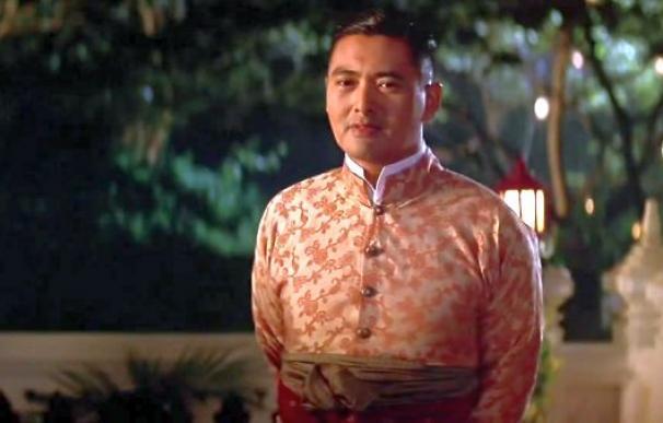 Fotografía de Chow Yun-Fat en la película Ana y el Rey.