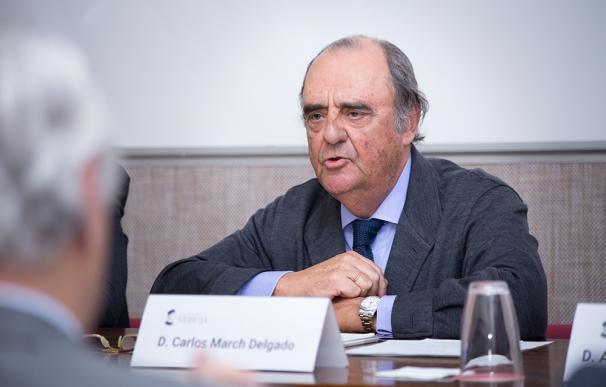 Carlos March, presidente de Corporación Financiera Alba.
