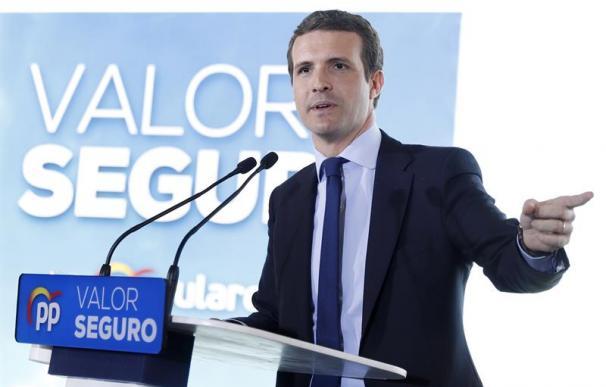 Pablo Casado, Partido Popular