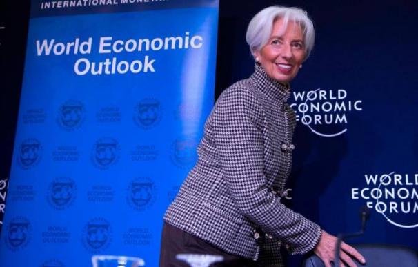Christine Lagarde, directora gerente del FMI / EFE