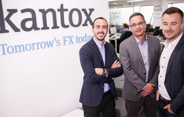 Los fundadores de Kantox.