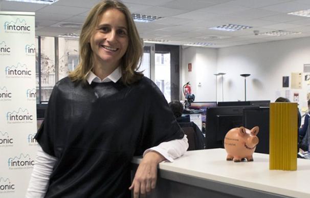 La CEO y cofundadora de Fintonic, Lupina Iturriaga.