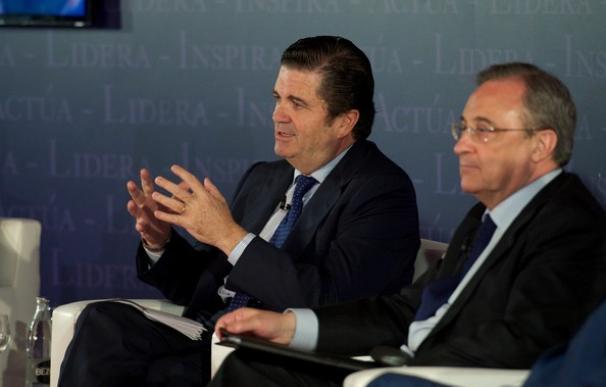 Florentino Pérez ha sido clave en el fichaje de Borja Prado por Key Capital.