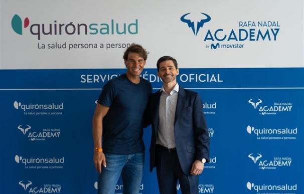 Quirónsalud, nuevo Servicio Médico de la Rafa Nadal Academy by Movistar