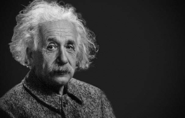 Fotografía de Albert Einstein.