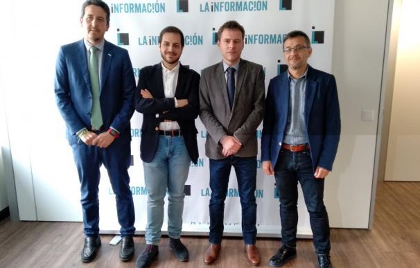 Candidatos en el debate económico en La Información.