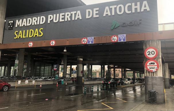 Estación Puerta de Atocha en Madrid