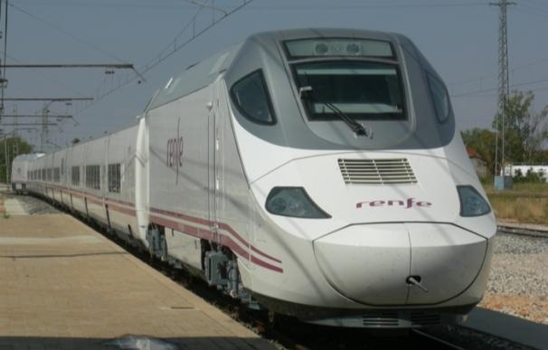 Tren fabricado por Talgo de Rende