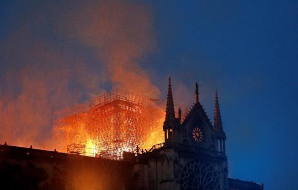 Incendio Notre Dame, París