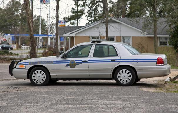 Fotografía de un coche de la policía de Carolina del Sur.