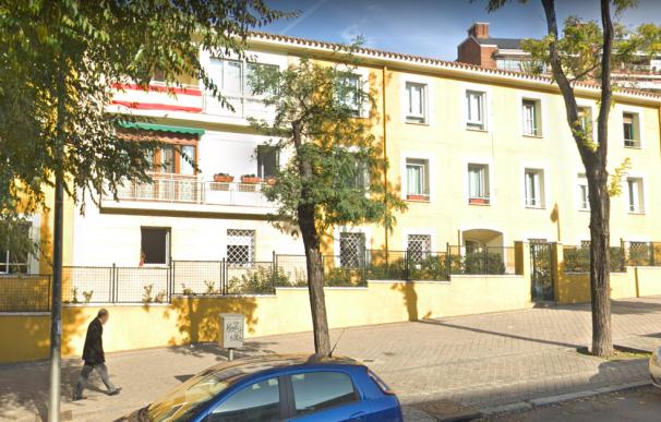 Fachada del inmueble en Madrid sede de la Fundación Franco.