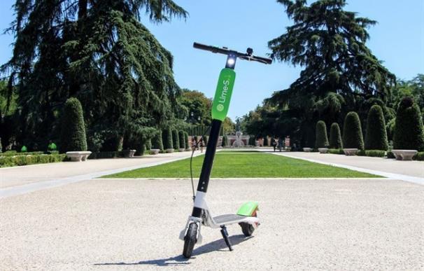 Los patinetes de Lime aterrizaron en Madrid hace varios meses