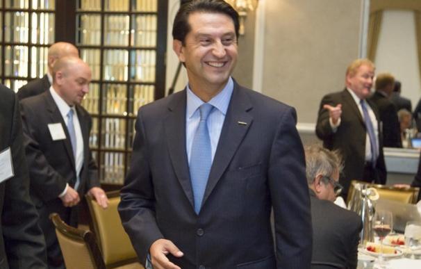 El exvicepresidente ejecutivo de Nissan Motor, José Muñoz, durante el salón de Detroit de 2016 (Foto: Nissan)