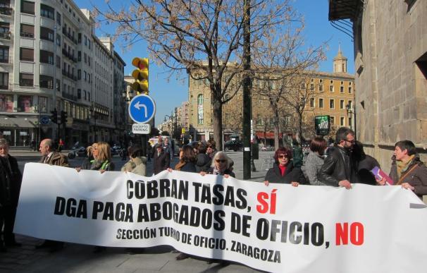 """Los jueces mantienen una jornada de huelga para exigir un poder judicial """"fuerte"""", medios e independencia"""