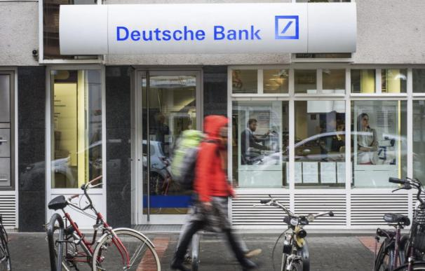 Deutsche Bank, el mayor banco privado comercial de Alemania, volvió a tener beneficios en 2018 (EFE)