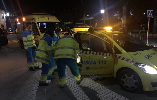 112 Emergencias Madrid, ambulancia