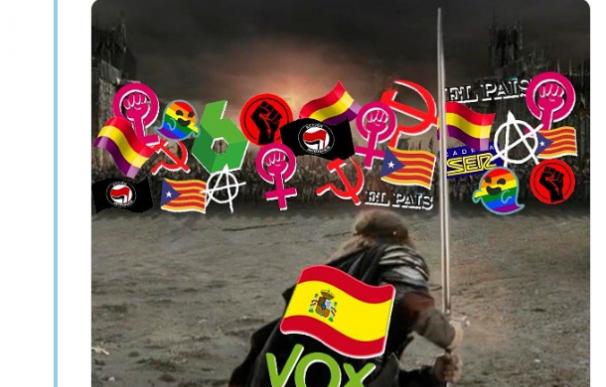 Warner sobre el tuit de Vox: no les dieron permiso para usar El Señor de los Anillos