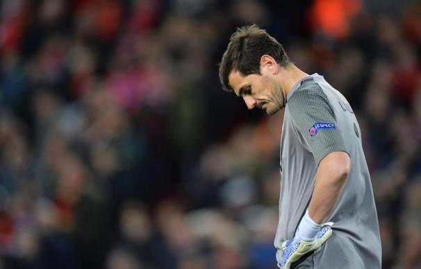 Fotografía de Iker Casillas en el Oporto FC.