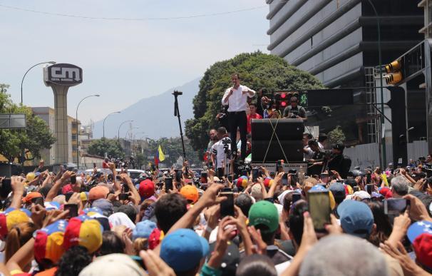 EEUU vigila de cerca la 'Operación Libertad' de Juan Guaidó