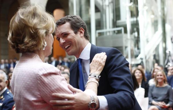 """Esperanza Aguirre: """"Casado ha querido dar una patada a Abascal en mi trasero"""""""