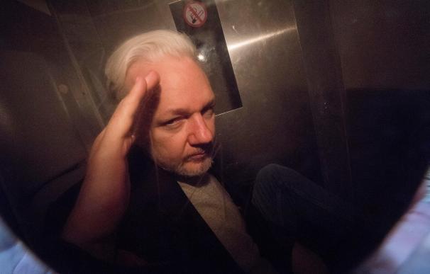 Julian Assange, en Reino Unido